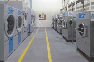 Booth Washers Dryers Electrolux